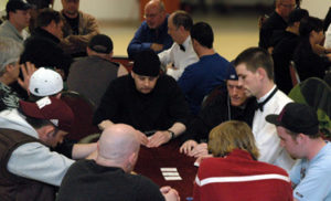 Nightlife Hold'em Poker Tournament in action